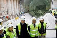 Finalizada la excavación del túnel del AVE ente Atocha y Chamartín