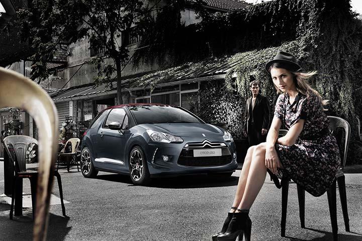 El Citroën DS3 diseña el movimiento en Casa Pasarela 2011
