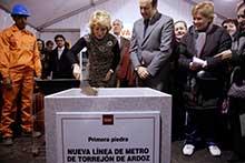 El metro de Torrejón funcionará en 2013 y llegará a Chamartín en 20 minutos