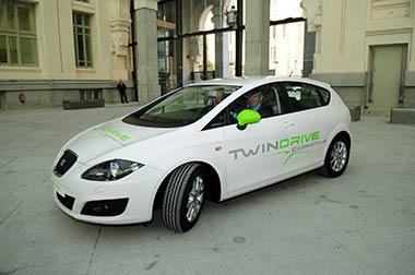 La Ciudad de Madrid y SEAT aceleran en la carrera por el coche sostenible