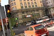 El paso de peatones más grande y seguro de España