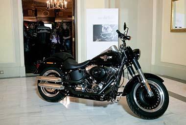 Exposición Harleys on the Road, en Madrid