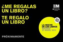 VI Edición de La Noche de los Libros 2011