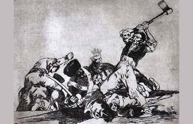 """""""Los desastres de la guerra"""" presenta 80 estampas de Goya"""
