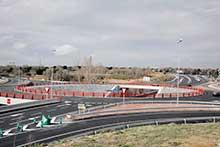 Abierto un nuevo enlace en la M-503 que mejora el tráfico en la zona noroeste