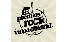 33 edición premios Rock Villa de Madrid