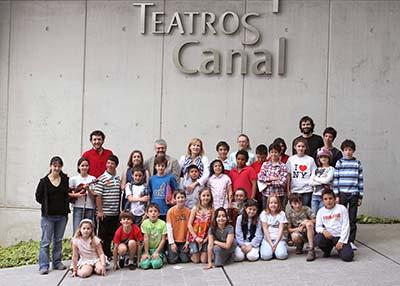El proyecto infantil '¡Invéntate una ópera!' entra en su recta final en los Teatros del Canal