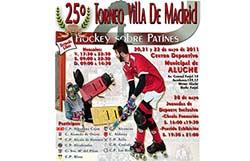Torneo Villa de Madrid de Hockey sobre patines en Aluche