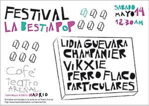 La Bestia Pop Festival, presenta su primera edición en Madrid