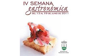 IV Semana Gastronómica de Villanueva de la Cañada