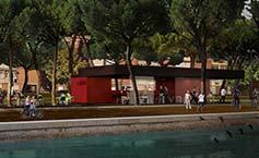 En julio abrirá sus puertas el primer café de Madrid Río