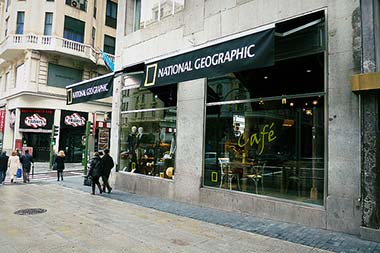National Geographic Madrid Store