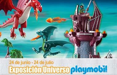 Exposición de Playmobil en El Corte Inglés de Callao