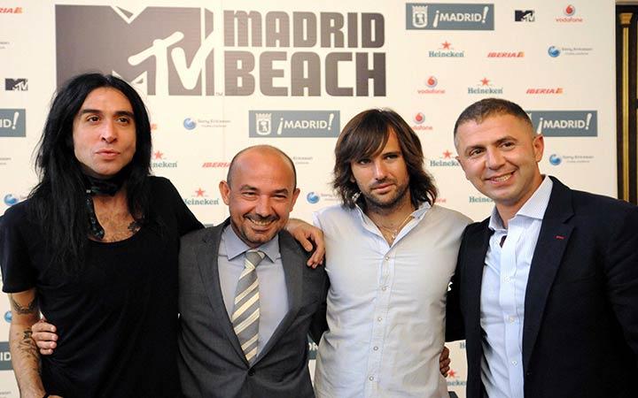 Madrid Río acogerá el MTV Madrid Beach Festival