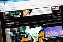 Madrid se promociona como destino turístico en Internet
