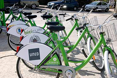 BICICUM, préstamo de bicicletas en la Ciudad Universitaria