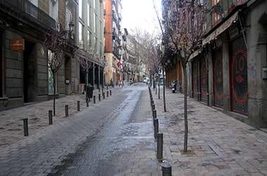 Finalizadas las obras en huertas las letras espacio madrid for Calle prado jerez madrid