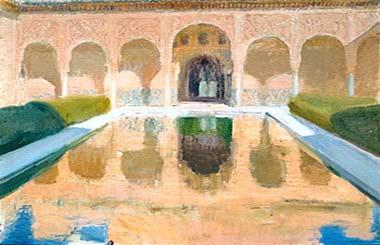 """Exposición """"Granada en Sorolla"""""""