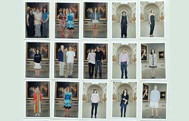 Los visitantes del Museo del Prado protagonistas de una exposición