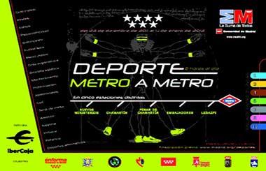 Practica deporte gratis esta Navidad en cinco estaciones de Metro