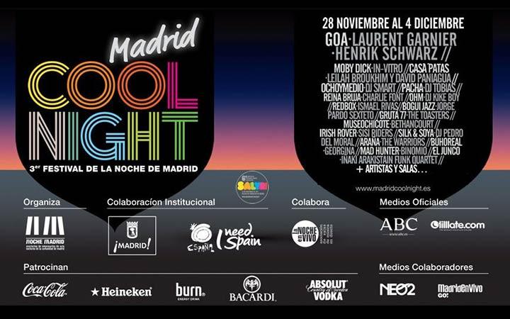 MADRID COOL NIGHT 2011, el Festival de la Noche de Madrid