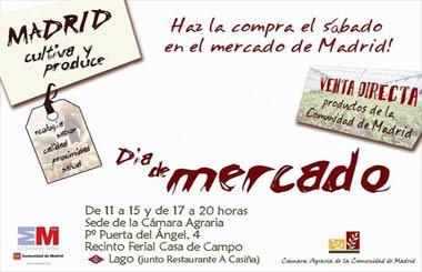 Mercado de alimentos de Madrid