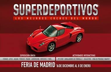 SUPERDEPORTIVOS, los mejores coches del mundo en IFEMA