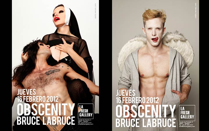 «Obscenity», atrevida exposición fotográfica de Bruce Labruce