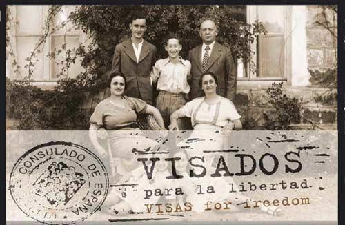 """""""Visados para la libertad"""", homenaje a los diplomáticos españoles que salvaron a miles de judíos"""