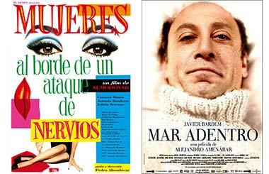 25 Aniversario de los Premios Goya. Un viaje al cine español