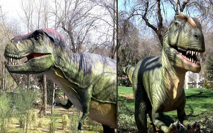 El Zoo de Madrid acoge una exposición de Dinosaurios