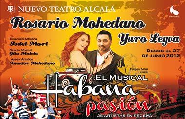 """Espacio Madrid sortea entradas para """"Habana Pasión – El Musical"""""""