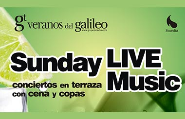 Espacio Madrid sortea entradas para «Sunday Live Music»