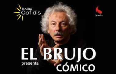 Espacio Madrid sortea entradas para «Cómico – El Brujo»