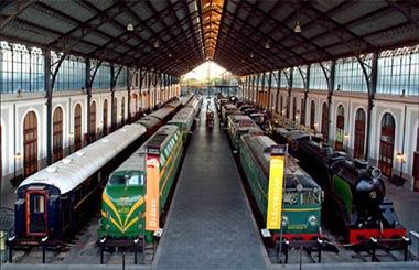 Jornada de Puertas Abiertas en el Museo del Ferrocarril de Madrid 2012