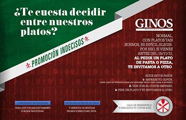 «Promoción Indecisos» en GINOS