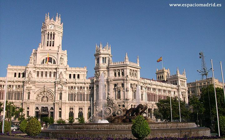 palacio de cibeles madrid - centrocentro