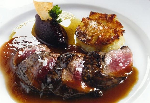 Fotografía de uno de los platos http://www.madridexquisito.com