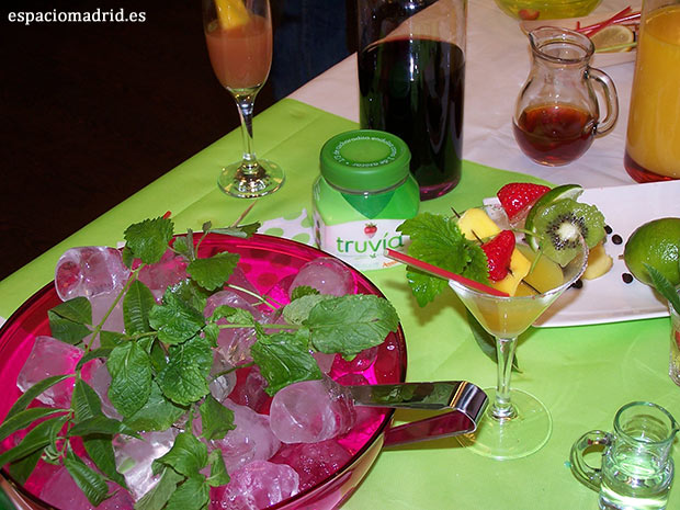 taller de cocteles light con truvia madrid