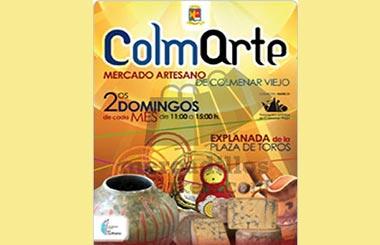 """El domingo 11 se celebra el Mercadillo de Artesanía """"ColmArte"""" en Colmenar Viejo"""