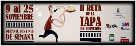 II RUTA DE LA TAPA CHINCHON MADRID