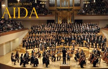 """La ópera """"Aida"""" de Verdi en concierto en el Auditorio Nacional"""