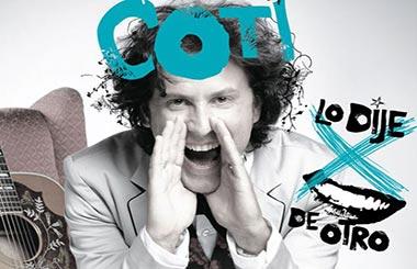 Concierto de Coti en Madrid el 29 de noviembre de 2012