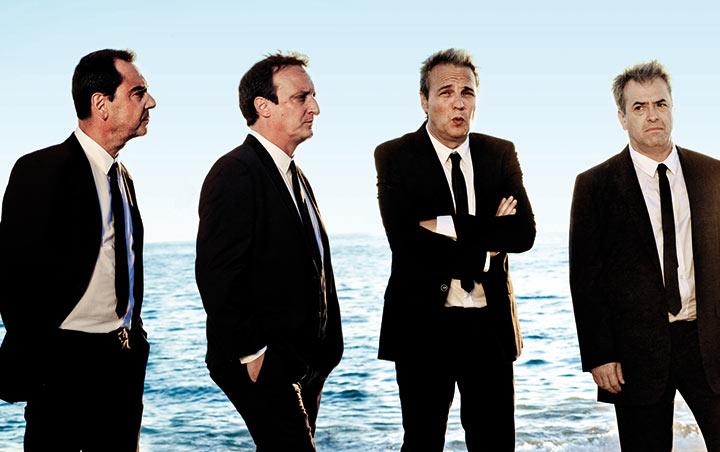 Hombres G en concierto en La Riviera el 30 de noviembre