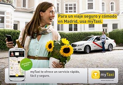 Llega a Madrid MyTaxi, una aplicación móvil para pedir taxis sin radioemisora