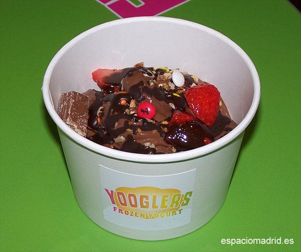 Yooglers, delicioso yogurt helado en Madrid