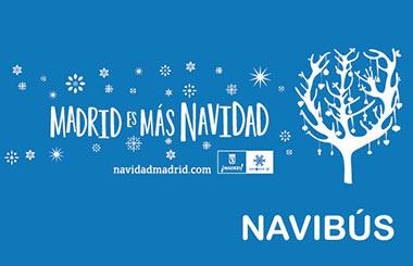 """El """"NAVIBÚS o Bus de la Navidad"""" vuelve a recorrer las calles de Madrid un año más"""