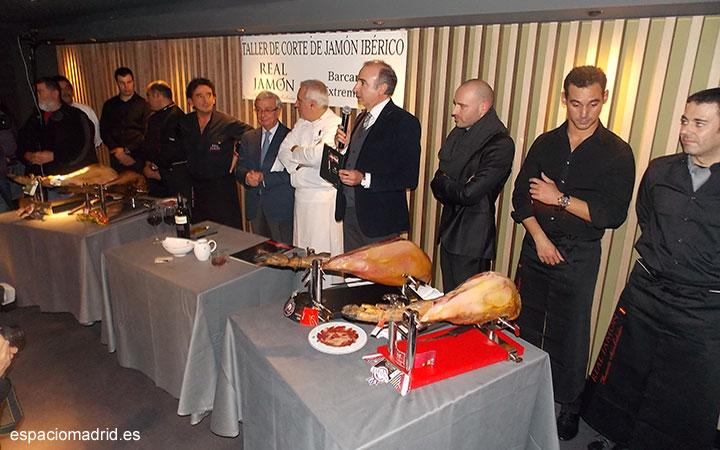 """Asistimos a la presentación del """"Real Jamón"""" en el Restaurante """"Palacio de Cibeles"""" en Madrid"""