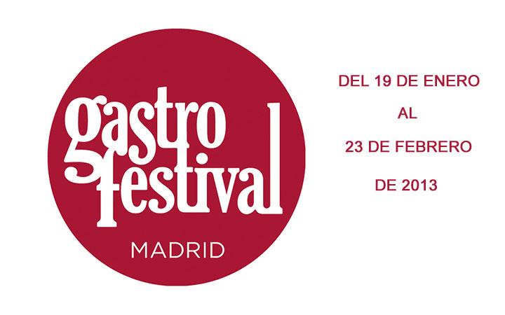 GASTROFESTIVAL MADRID 2013 un festival para los sentidos