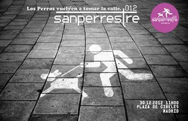 """""""San Perrestre"""" 2012. Los perros vuelven a tomar las calles de Madrid"""